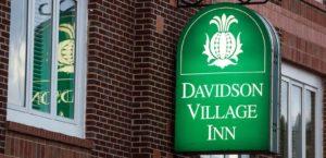 Davidson Village Inn sign