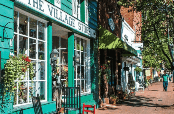 The Village Store in downtown Davidson, NC