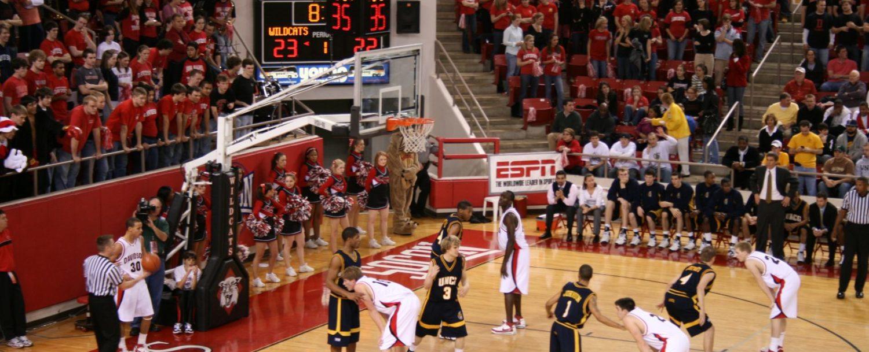 Davidson College basketball game