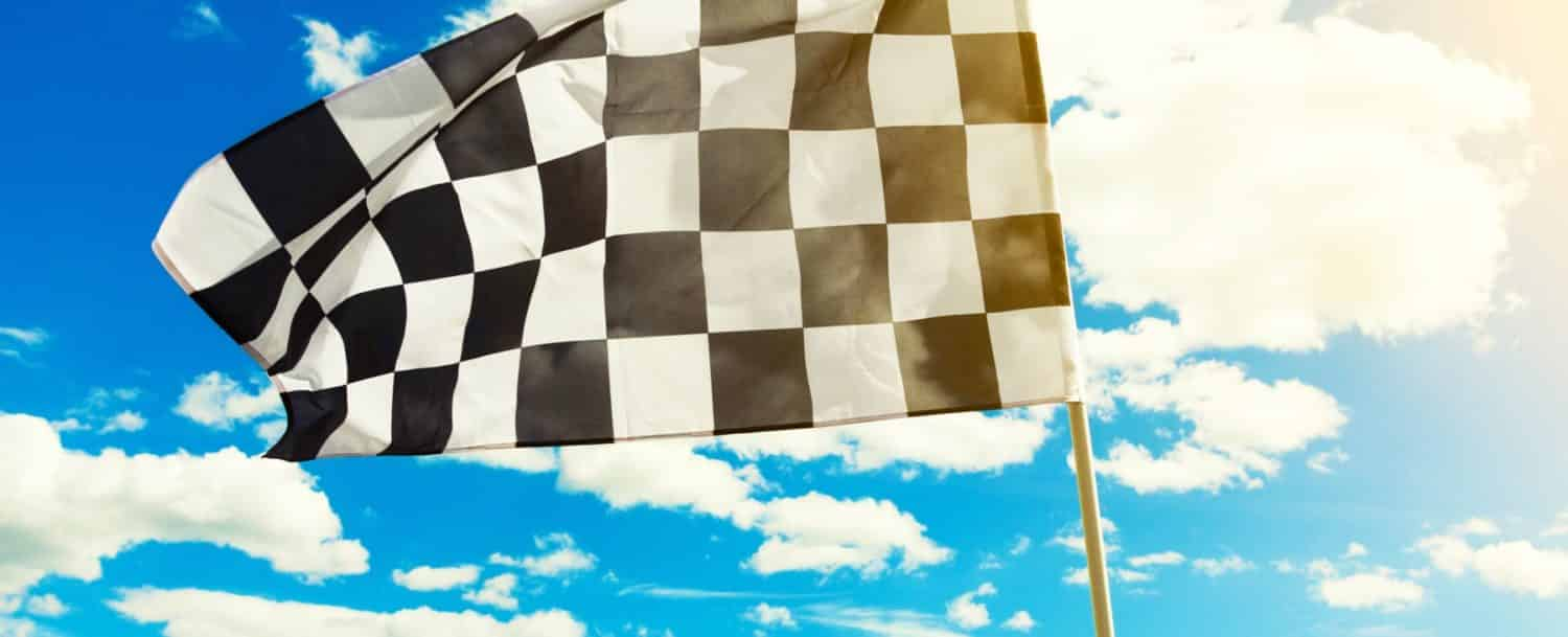 Checkered NASCAR flag: Charlotte Motor Speedway Events
